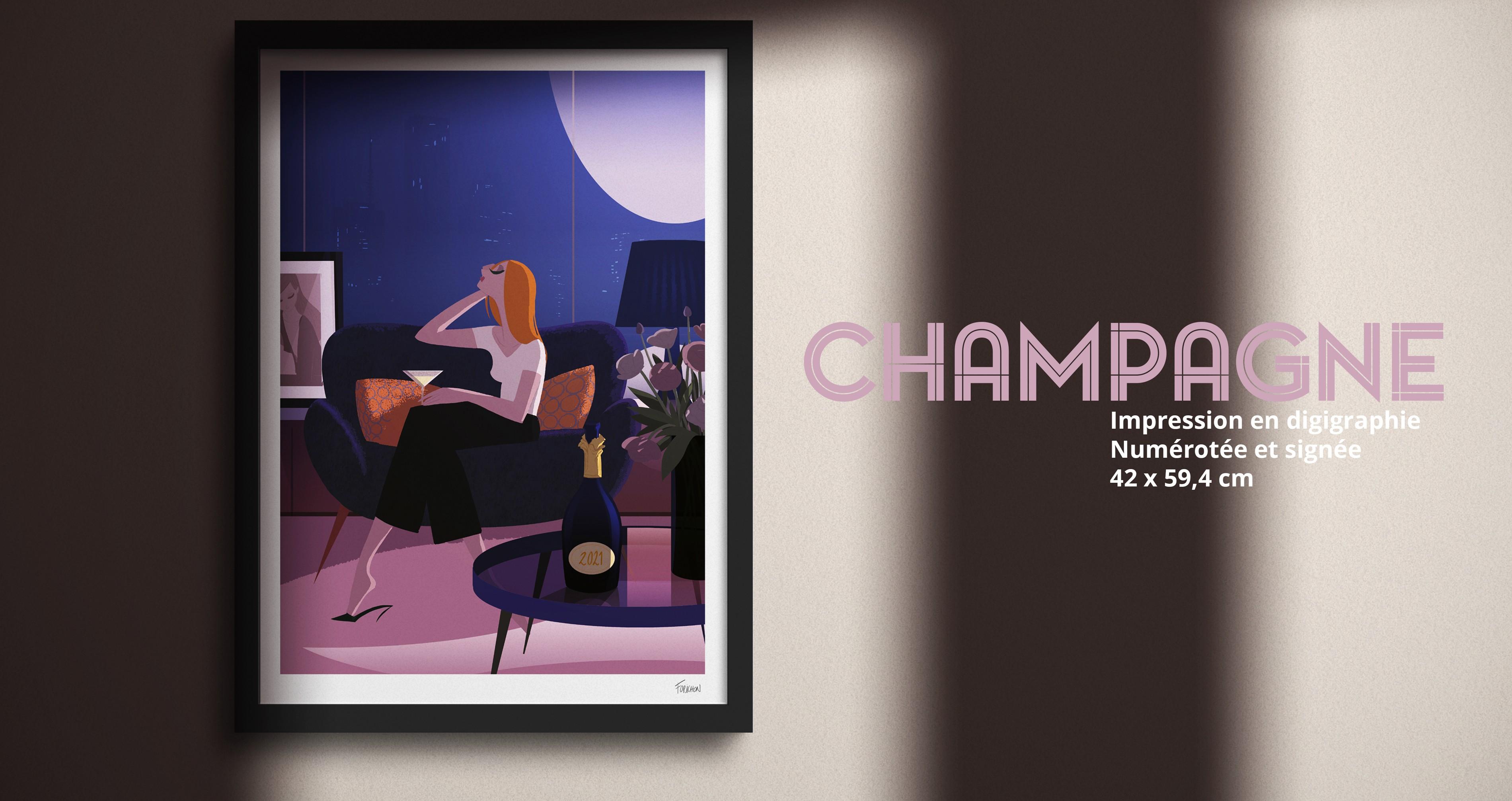 Champagne ! de Matthieu Forichon